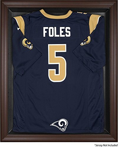 St. Louis Rams Jersey Display Case by Mounted Memories