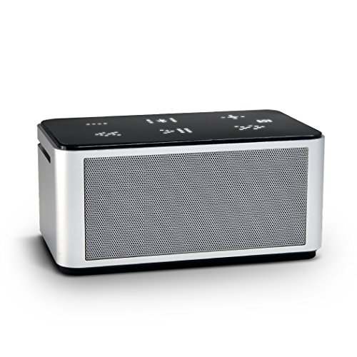 Meidong Wireless Bluetooth Speakers 4 0 Nfc Portable Stereo Dual Sound  8W Output Power  Touch Screen Simple Use  Metal Aluminum Shell With Mic