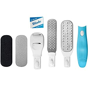 Foot File for Dry Scaly Feet From POVAD, Best Pedicure Tools for Removing Hard, Cracked, Dead Skin Cells, Professional Callus Remover for Both Professional and Home Use