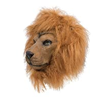 P 'tit clown 41132 Full Latex Adult Mask, Lion, One Size