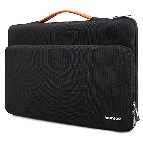 tomtoc 360 Protective Laptop Carrying Case for 12.3 Inch Surface Pro X/7/6/5/4, New MacBook Air 13-inch with Retina Display A1932, 13 New MacBook Pro USB-C A2159 A1989 A1706 A1708, Accessory Bag (Ipad Charger Carrying Case)
