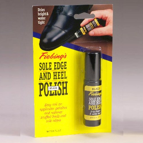 - Fiebing 0304902 Adult's Sole Edge and Heel Polish Brown One Size