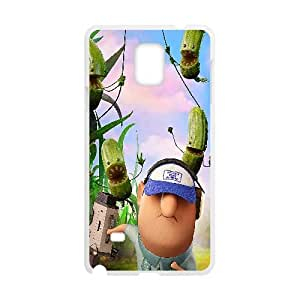 Cloudy With A Chance Of Meatballs 2 Cartoon Samsung Galaxy Note 4 Cell Phone Case White 05Go-243849