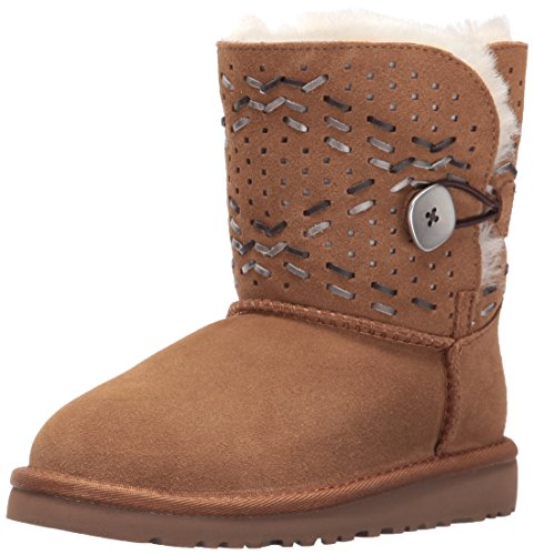 Ugg Kids' Y Bailey Button Tehuano Pull-on Boot - Chestnut...