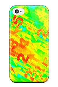 JFULbDP1446SZgzO Case Cover Protector For Iphone 4/4s Bright Numbers Case