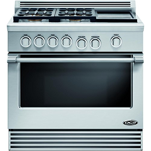 """DCS RGV364GDN Professional 36"""" Stainless Steel Gas Sealed..."""