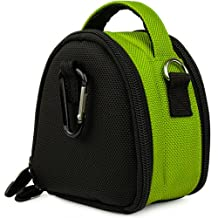 Lime Green VG Laurel Edition Stylish Nylon Camera Carrying Case Pouch for Canon PowerShot IXUS 1000 HS IXY 50S SD4000 IS IXUS 300 HS IXY 30S SD3500 IS IXUS 210 IXY 10S SD1400 IS IXUS 130 IXY 400F SD1300 IS IXUS 105 IXY 200F SD940 IS IXUS 120 IS SD980 IS IXUS 200 IS SD960 IS IXUS 110 IS SD1200 IS IXUS 95 IS SD780 IS IXUS 100 IS Compact Digital Cameras