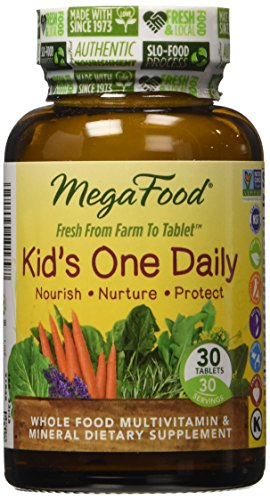 MegaFood - Kid's One Daily, Supports Healthy Growth & Development, 30 Tablets (FFP)