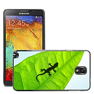 Hot Style Cell Phone PC Hard Case Cover // M00046068 reptiles frogs animals leaf gecko // Samsung Galaxy NOTE 3