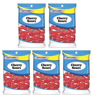Taylors Candy 2 oz Cherry Sours Candies, 24 Count (Pack of 5) by TylrdsCn (Image #3)