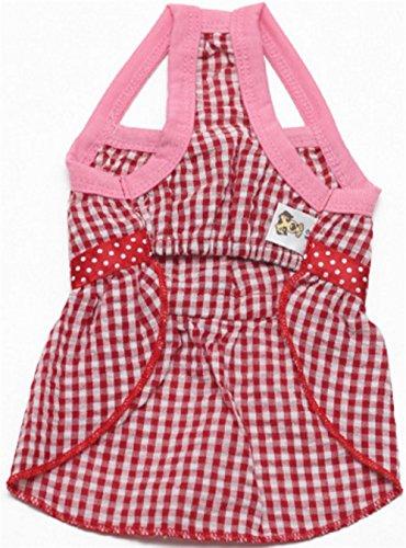 Wanyne Confortables Printemps Et Vêtements Pour Animaux L'été Arc Bracelet Fournitures De Chien De Chat Cravate S Rouge