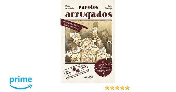 Amazon.com: Papeles arrugados / Crumpled papers (Spanish ...