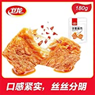 12pack Weilong Latiao, Dougan Xiangla 卫龙 手撕素肉 香辣 豆制品 豆干 零食小吃休闲 Chinese Spicy Wei Spicy Gluten, 180g (180g1pack)