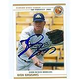 Ben Diggins autographed Baseball Card (Minor League Card) - Autographed Baseball Cards