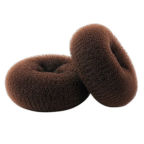 ClothoBeauty 3 pieces Extra small Size Kids/Children Hair Bun Donut Maker, Ring Style Bun, Chignon Donut Buns Doughnut Shaper Hair Bun maker