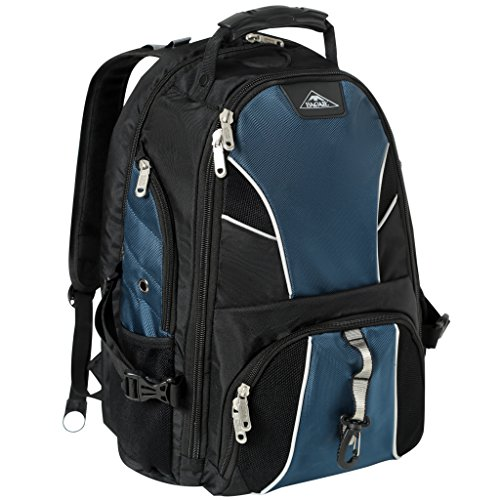 (Bagail Travel Laptop Backpack, Durable College School Computer Bag for Men and Women,Large Capacity TSA Friendly ScanSmart Backpacks Fit Most 17-Inch Laptops & Tablets (Navy))