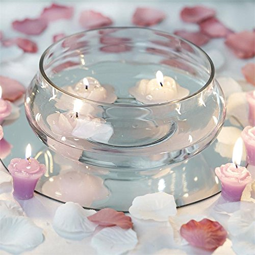 Amazon Balsacircle 10 Pcs 7 Wide Clear Floating Candle Glass