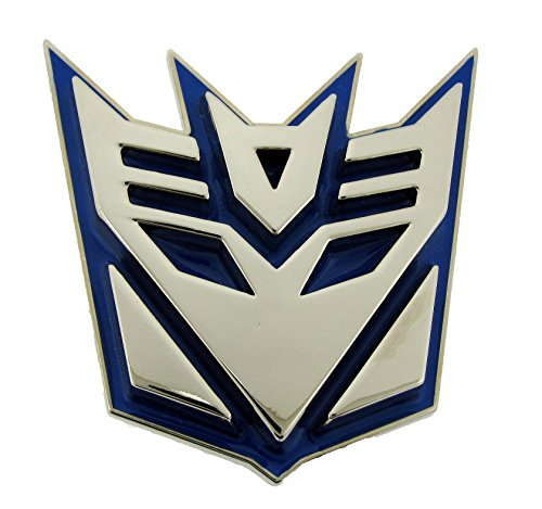 Transformers Hasbro Decepticon Blue Belt Buckle Halloween Costume Fashion Metal