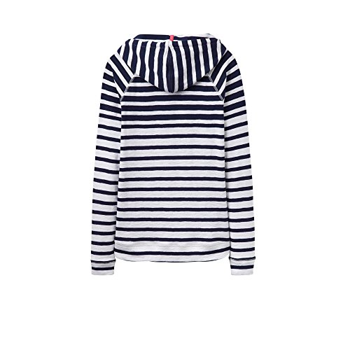 Joules Womens/Ladies Marlston Soft Cotton Hoodie Hooded Top French Navy Ombre