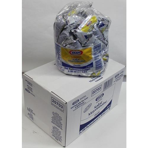Kraft Salat-Mayonnaise 50% 100 x 20ml