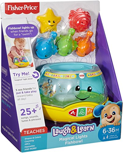 51p3N%2B1vzJL - Fisher-Price Laugh & Learn Magical Lights Fishbowl