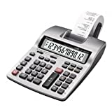 CSOHR150TMPLUS - Printing Calculator, 12-Digit, 6-1/3x10-5/8x2-1/2,LGY