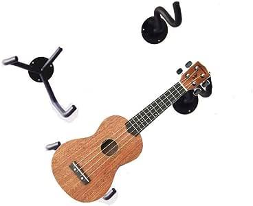 ZPADJTGG 2Pcs Soporte de Guitarra Gancho para Colgar Roble ...