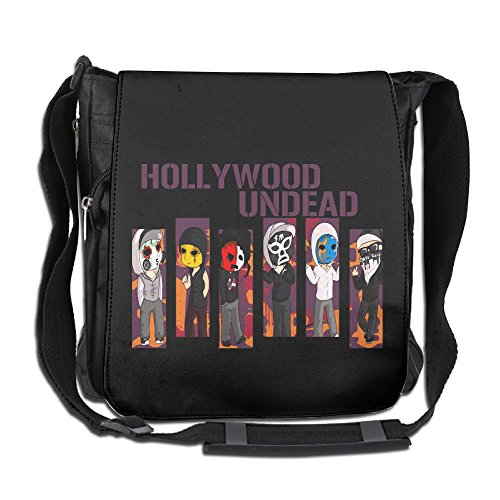 CMCGH Hollywood Undead Day Member Poster Messenger Bag Traveling Briefcase Shoulder Bag For Adult Travel And Business Trip -
