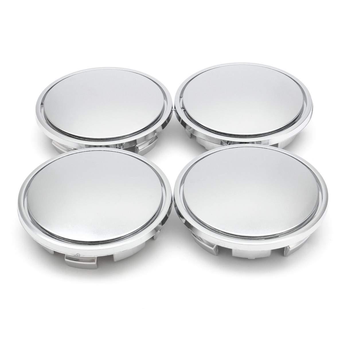 4pcs Universal 54//64//65//68//69//73mm Car Wheel Center Hub Caps Wheel Center Cover Emblem Bandages 65mm