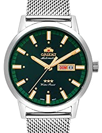 Relógio Orient Masculino Ref: 469ss085 E1sx Automático Prateado