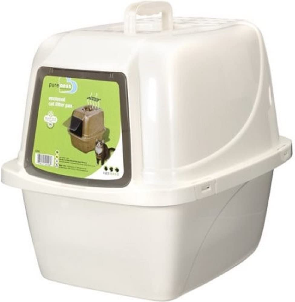 Covered Cat Litter Box- Large (Large)