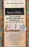 Rvr 1960 Biblia Letra Grande Edición Especial Con Referencias, , 1558199101