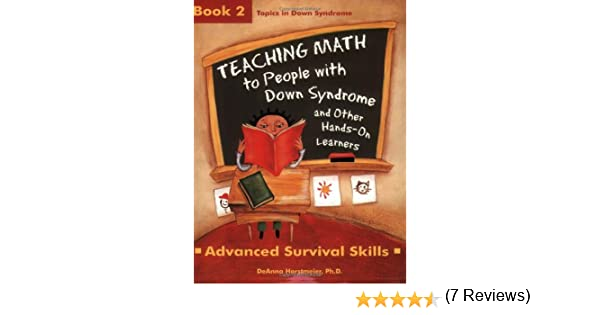 Amazon.com: Teaching Math to People with Down Syndrome and Other ...