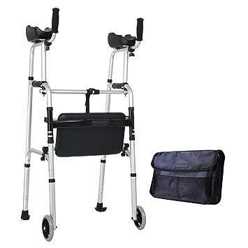 Andador Para Ancianos Con Reposabrazos | Aluminio Ultraligero ...