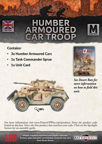 Humber Armoured Car Troop