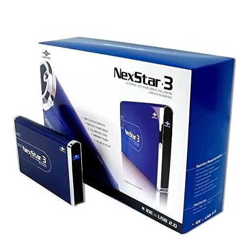 (Vantec NexStar 3 NST-260U2-BL 2.5-Inch IDE to USB 2.0 External Hard Drive Enclosure (Midnight Blue))