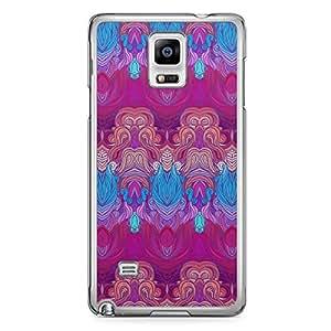 Hairs Samsung Note 4 Transparent Edge Case - Design 1