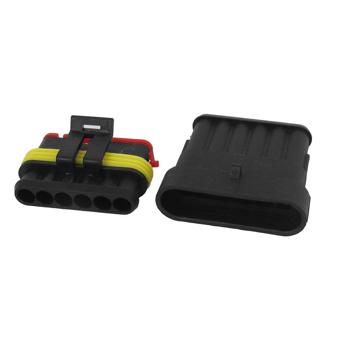 Amazon.com: Carro ATV UTV RV 6 Pin Waterproof Kit Connector ...