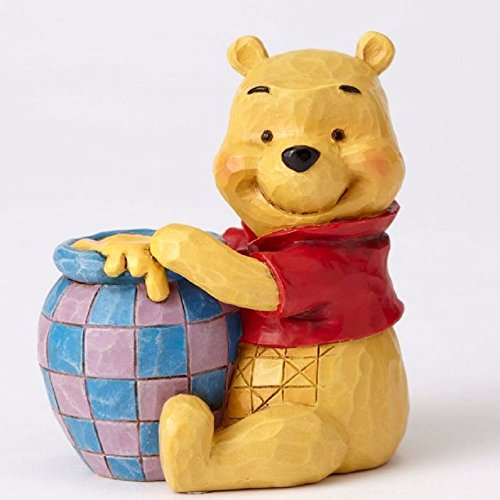 The Winnie Centerpiece Pooh - Jim Shore Disney Traditions Mini Winnie The Pooh Pot of Honey Figurine 4054289