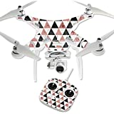 MightySkins Protective Vinyl Skin Decal for DJI Phantom 3 Standard Quadcopter Drone wrap cover sticker skins Marble Pyramids