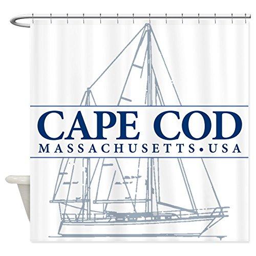(CafePress Cape Cod - Decorative Fabric Shower Curtain (69