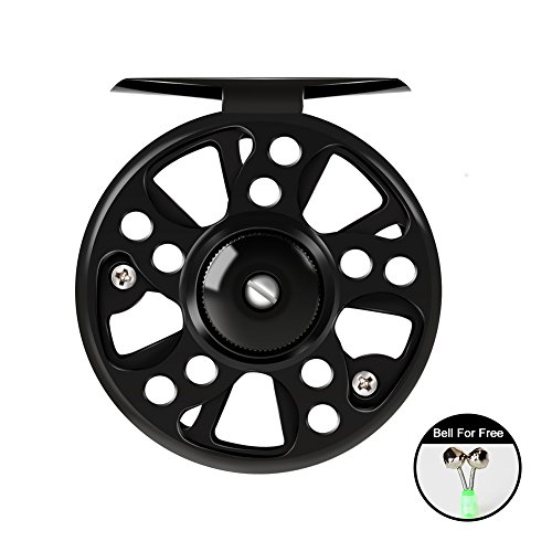 WATERFLY Fly Fishing Reel with CNC-Machined Aluminum Alloy Body 3/4, 5/6 Professional Fishing Accessory Fishing Tool For Sale
