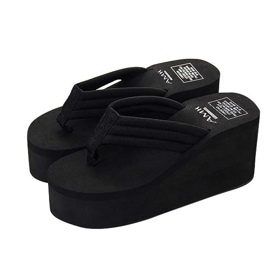Amazon.com: Ghazzi Zapatillas de verano para mujer, zapatos ...