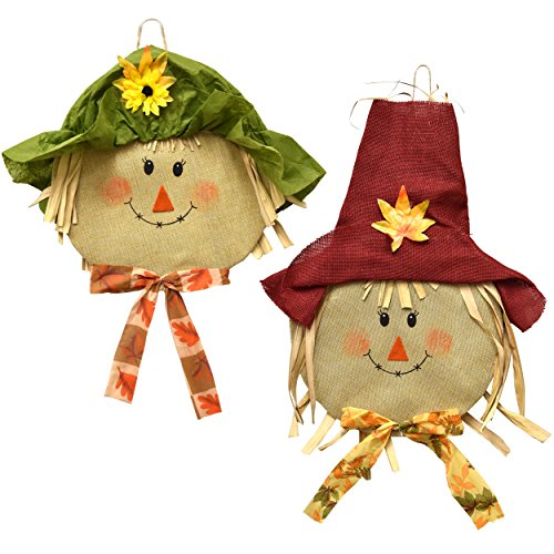 Thanksgiving Hanging (Harvest Scarecrow Decorations Thanksgiving Cute 15