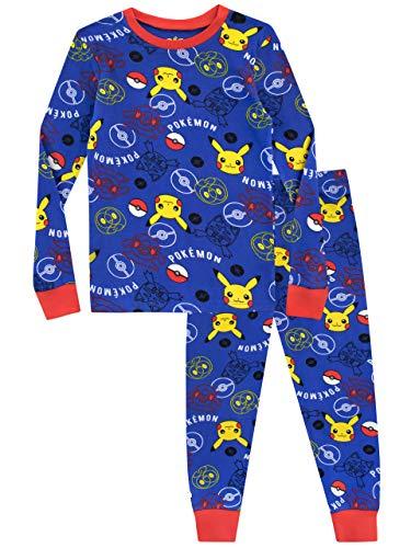 Pokemon Jongens Pyjama's Aansluitende Pasvorm