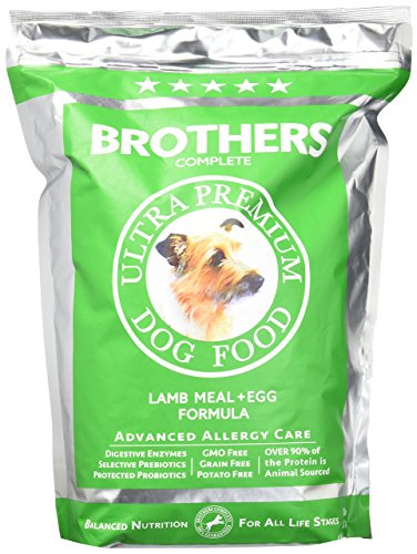 Brothers Complete Lamb & Egg Advanced Allergy Formula - 5lb (Best Food For Dachshund With Allergies)