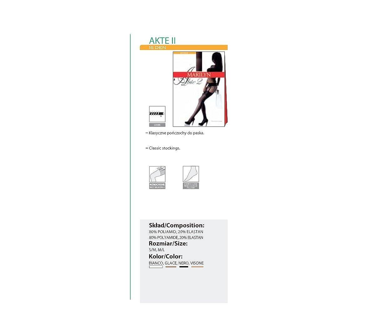 Marilyn Classiche Calza a Nastro Rinforzate con Cinturino di 10 cm 15 Denari