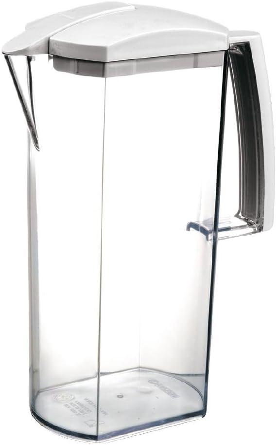 /Carafe deau /él/égante 2/litres Blanche Araven m41008/