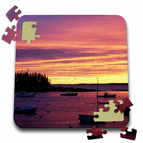 Island Southport (Danita Delimont - Maine - Southport Island, Boothbay Harbor, Maine - US20 JMO0743 - Jerry and Marcy Monkman - 10x10 Inch Puzzle (pzl_90675_2))