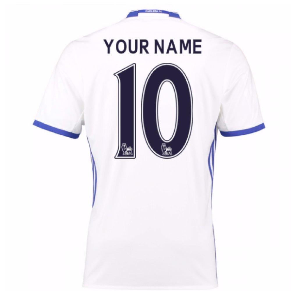 2016 – 17チェルシー3rdシャツ( Your Name ) – キッズ B0786H6MPVホワイト 11/12 Years US Medium Boys 30-32\